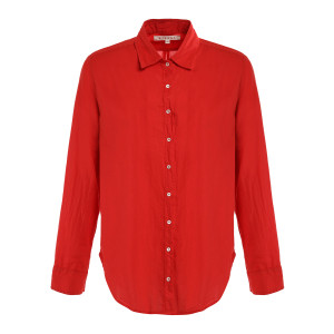 Chemise Beau Coton Rouge