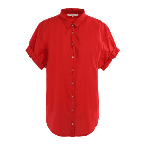 Chemise Channing Coton Rouge