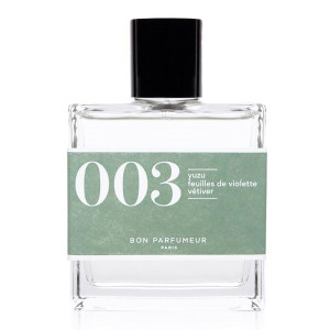 Eau de Parfum #003 Yuzu, Feuilles de Violette, Vétiver, 100ml