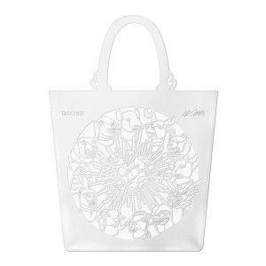 "Sac The China Bag ""Zodiac"" Blanc, Édition Limitée Taschen x Ai Weiwei."