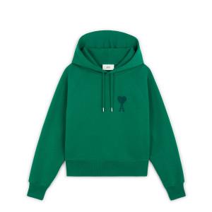 Hoodie Ami de Cœur Coton Biologique Vert