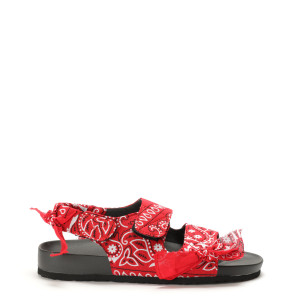 Sandales Apache Bandana Rouge