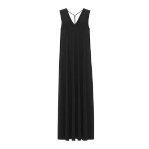 Robe Longue Axelle Noir