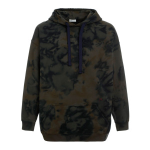 Sweatshirt Malibu Coton Navy Vert Army