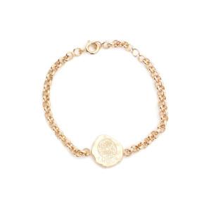 Bracelet Enfant Médaille Amour Cœur