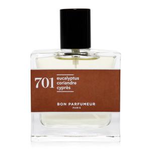 Eau de Parfum #701 Eucalyptus, Coriandre, Cyprès, 100 ml