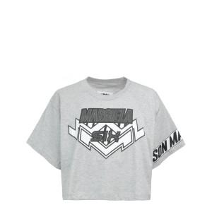 Tee-shirt Rettangular Jersey Gris