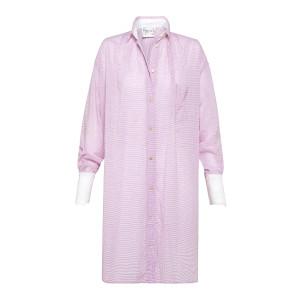 Robe Oversize Coton Violet