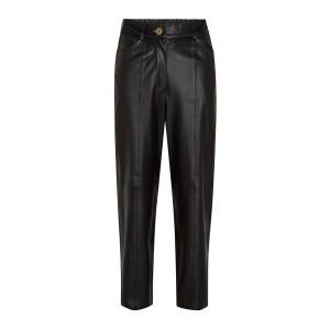 Pantalon Cuir Nappa Charbon