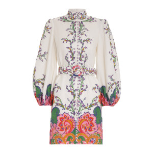 Robe The Lovestruck Lin Naturel Paisley Floral