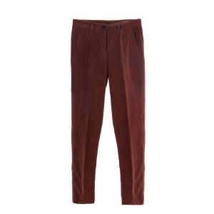 Pantalon Velours Cacao