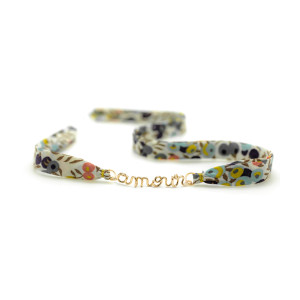 Bracelet Double Liberty Amour Gold Filled