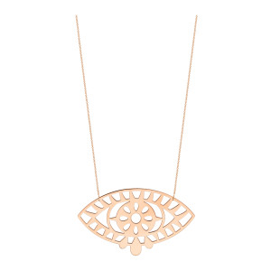 Collier Ajna Jumbo Or Rose