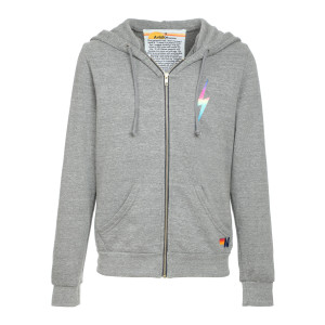 Sweatshirt Bolt Zip Rose