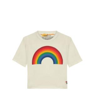 Tee-shirt Rainbow Blanc