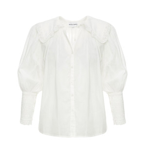 Blouse Aramis Coton Blanc