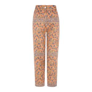 Pantalon Fanny Coton Marron