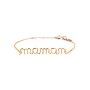Bracelet Richelieu Maman Gold Filled