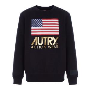 Sweatshirt Flag Gold Club Noir
