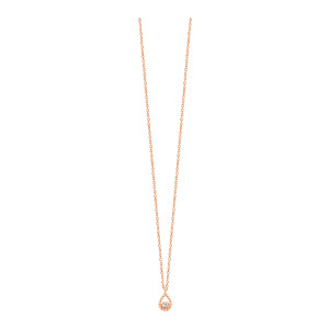 Collier Lucky Poire Or Diamant