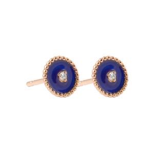 Boucles d'oreilles Puces Etoile du Nord Résine - GIGI CLOZEAU