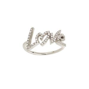 Bague Love Diamants Or Blanc