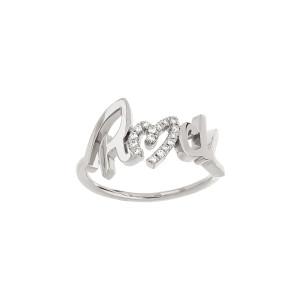 Bague Rock Diamants Or Blanc