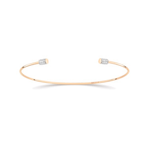 Jonc Single Diamond Choker - GINETTE_NY