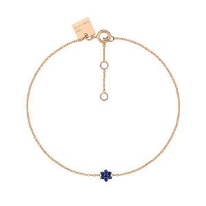 Bracelet Mini Star Saphirs Or Rose