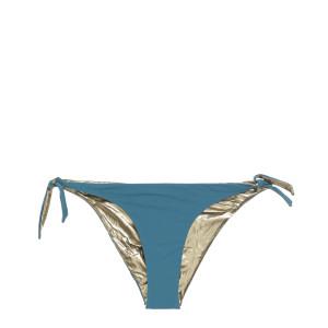 Culotte de Bain Julie Réversible Bleu Tin