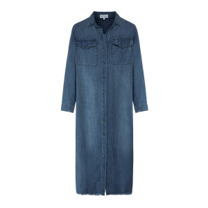Robe Duster Evening Mist Bleu