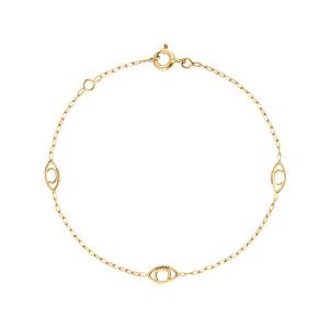Bracelet Iris 3 Or Jaune