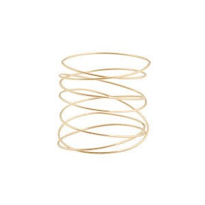 Bague Sublime Spirale Or