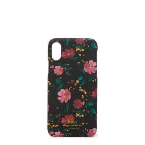 Coque Iphone X Black Flowers