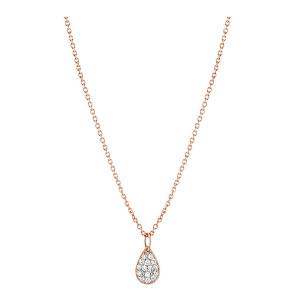 Collier Mini Bliss Diamants Or Rose