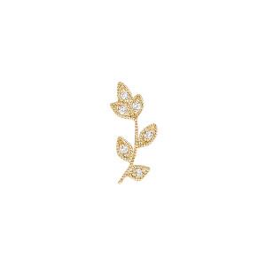 Boucle d'oreille Bloom Or Diamants (vendue à l'unité)