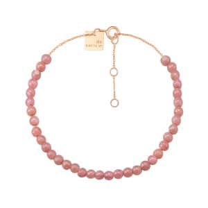Bracelet Maria Mini Rhodocrosite Or Rose