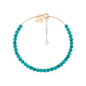 Bracelet Maria Mini Or Rose Turquoise