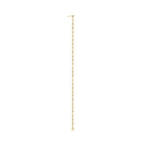 Boucle d'oreille Diamantée Chaîne 10 cm (vendue à l'unité) Or Jaune