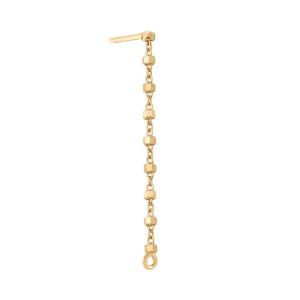Boucle d'oreille Diamantée Chaîne 3 cm (vendue à l'unité)