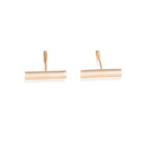 Boucles d'oreilles Gold Strip Or Rose
