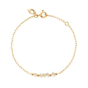 Bracelet Origines Nacre Or Jaune