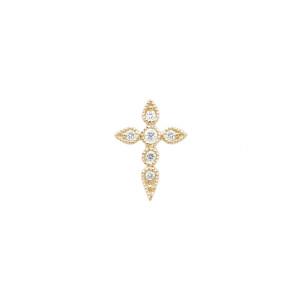 Boucle d'oreille Bouton Céleste Diamants (vendue à l'unité)