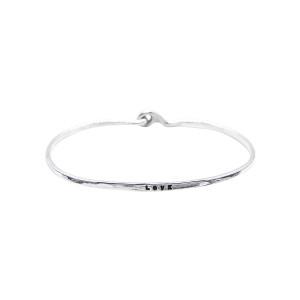 Bracelet Love Argent