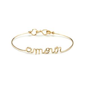 Bracelet Fil Amour Gold Filled - ATELIER PAULIN