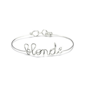 Bracelet Fil Blonde Argent - ATELIER PAULIN