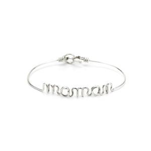 Bracelet Fil Maman Argent - ATELIER PAULIN