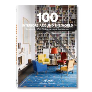 Livre 100 Interiors Around The World
