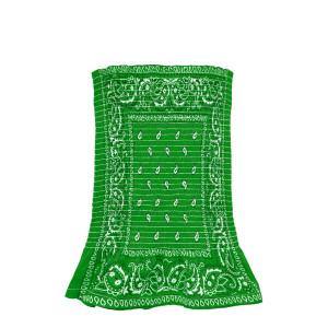 Top Bustier Bandana Vert
