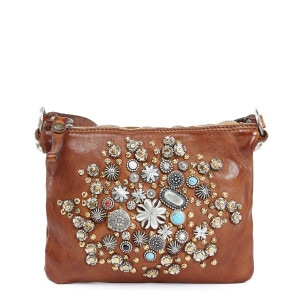 Sac Small Cow Clous Cognac